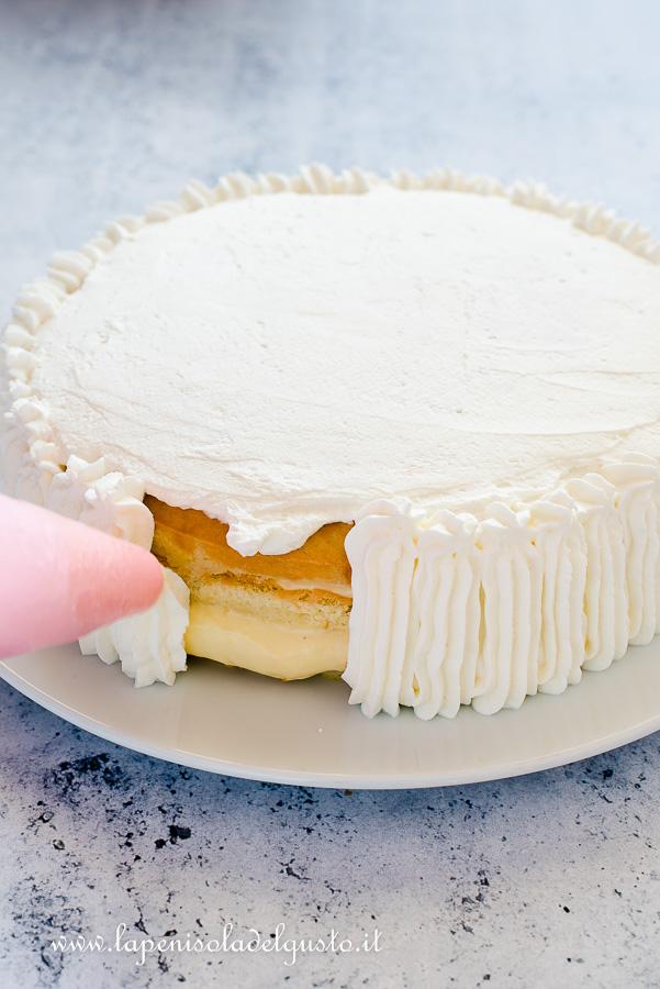 Torta Di Compleanno Alla Panna La Ricetta Perfetta Con Pan Di Spagna E Crema
